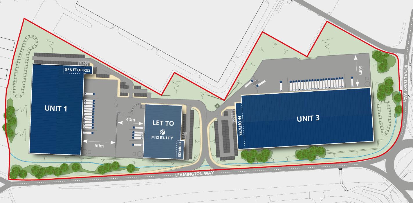 Mustang Park | Site Plan